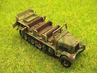 Sd Kfz 7 Prime Mover Halftrack.