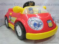 1 Mobil Mainan Aki Junior QJ1150AR Police Car