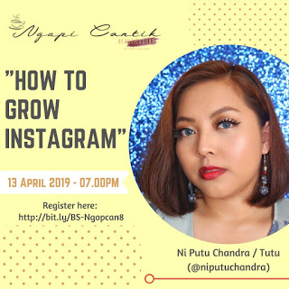 ngopi cantik bareng beautiesquad dan niputuchandra how to grow instagram