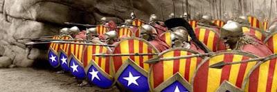 ejército catalán , estelada, escudos, escuts