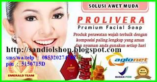 Prolivera, sabun herbal perawatan wajah