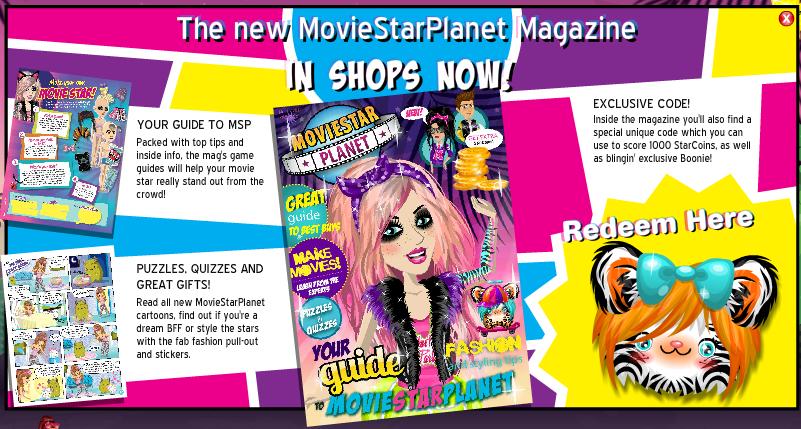 Moviestarplanet Magazine Codes - Woonkamer decor ideeën