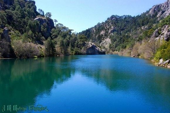 Lagunas de Aguas Negras, Nacimiento del río Borosa, Sierra de Cazorla, Andalucía