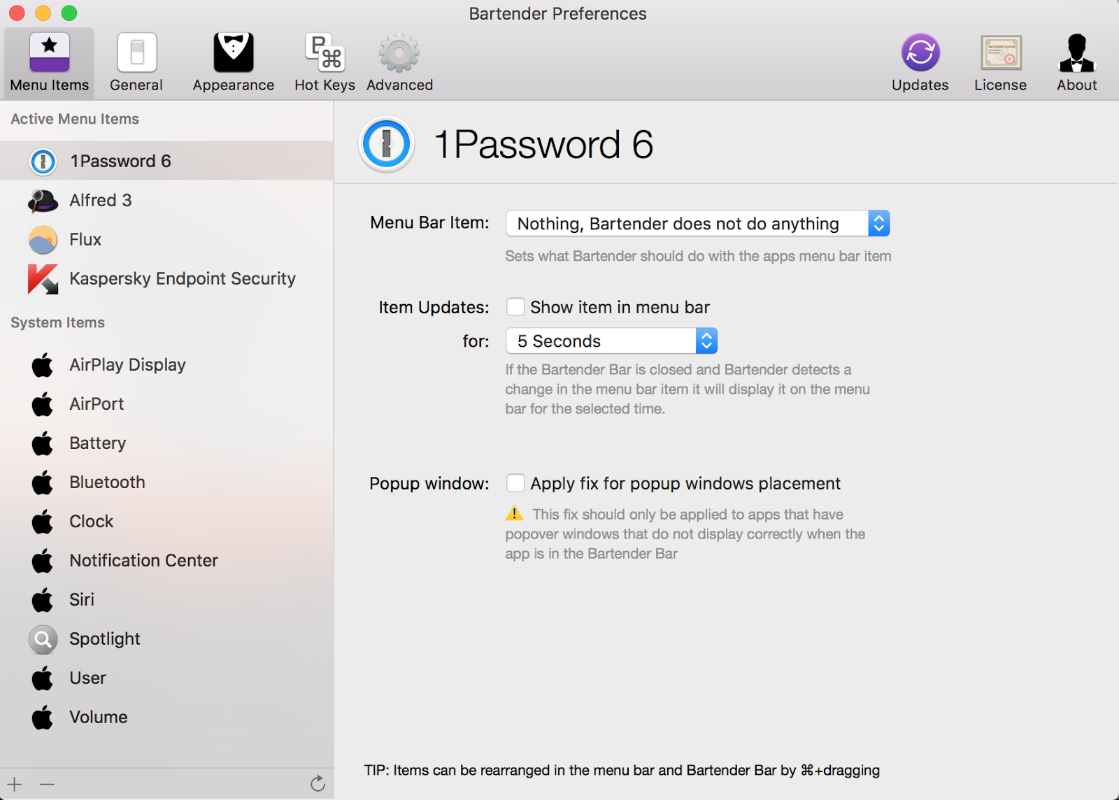 Hacking Bartender mac app and compromising licence check