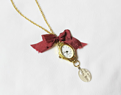 image hey boo radley watch necklace pendant two cheeky monkeys jewellery jewelry handmade etsy to kill a mockingbird harper lee