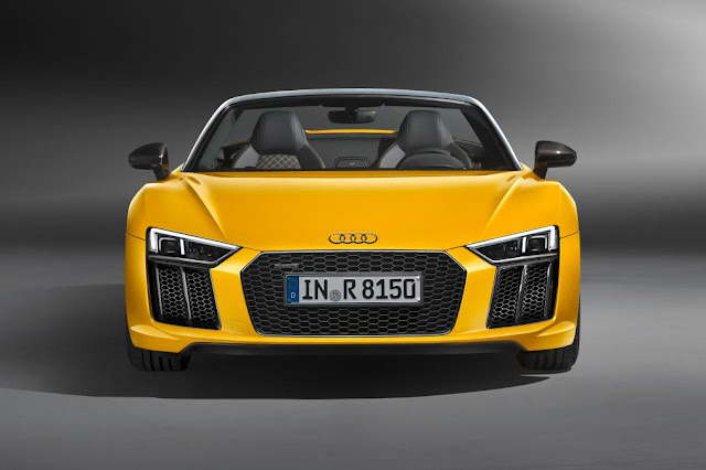 Top Car Show 2016 Audi R8 Spyder @ New York front view