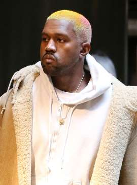 Kanye West Adds a Dash of Pink to His Blond Hair — Check Out His New Look