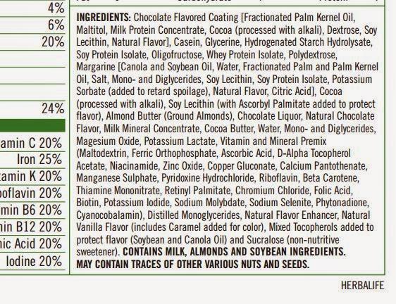 aa17f54a3 Herbalife  Barra de Proteína  Será Mesmo esse o Nome Correcto para ...