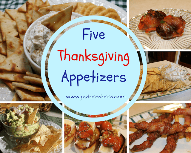 Five Thanksgiving Appetizers