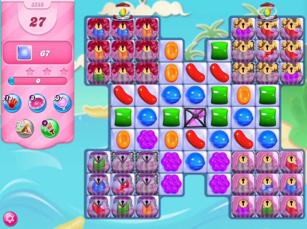 Candy Crush Saga level 3288