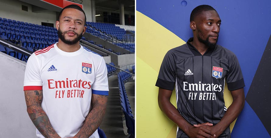 Adidas Olympique Lyon 20-21 Home & Away Kits Released - 70th ...