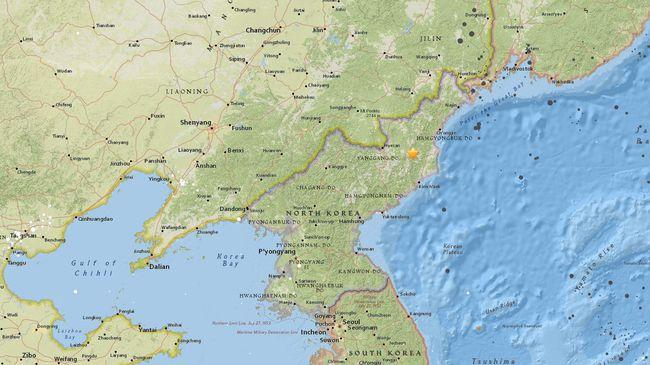 Gempa 'Aneh' Terjadi di Korut, Diduga Akibat Uji Bom Nuklir