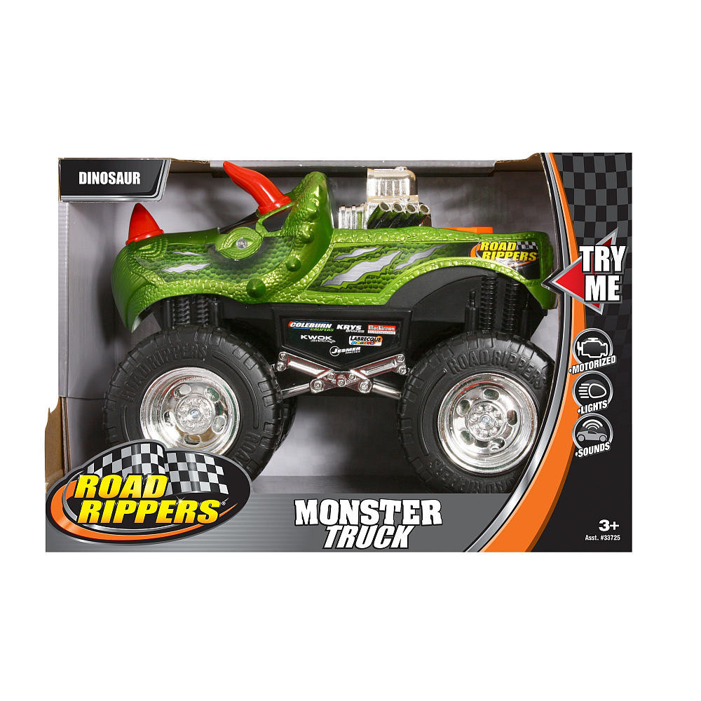 top notch material toy state toys road ripper 39 s monster truck and hatchbacks. Black Bedroom Furniture Sets. Home Design Ideas