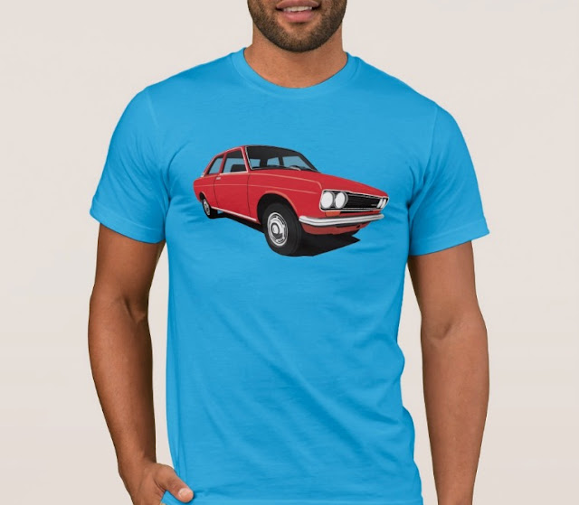 Retro Red Datsun Bluebird 1600 510 t-shirt