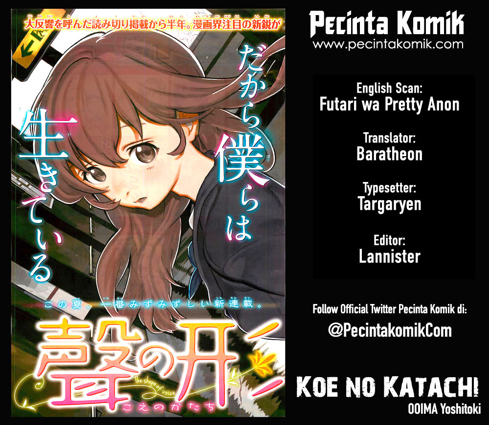 Koe no Katachi Chapter 23-1