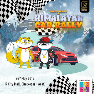 Honey Bunny in Himalayan Car Rally (2018) Hindi Movie HDRip | 720p | 480p