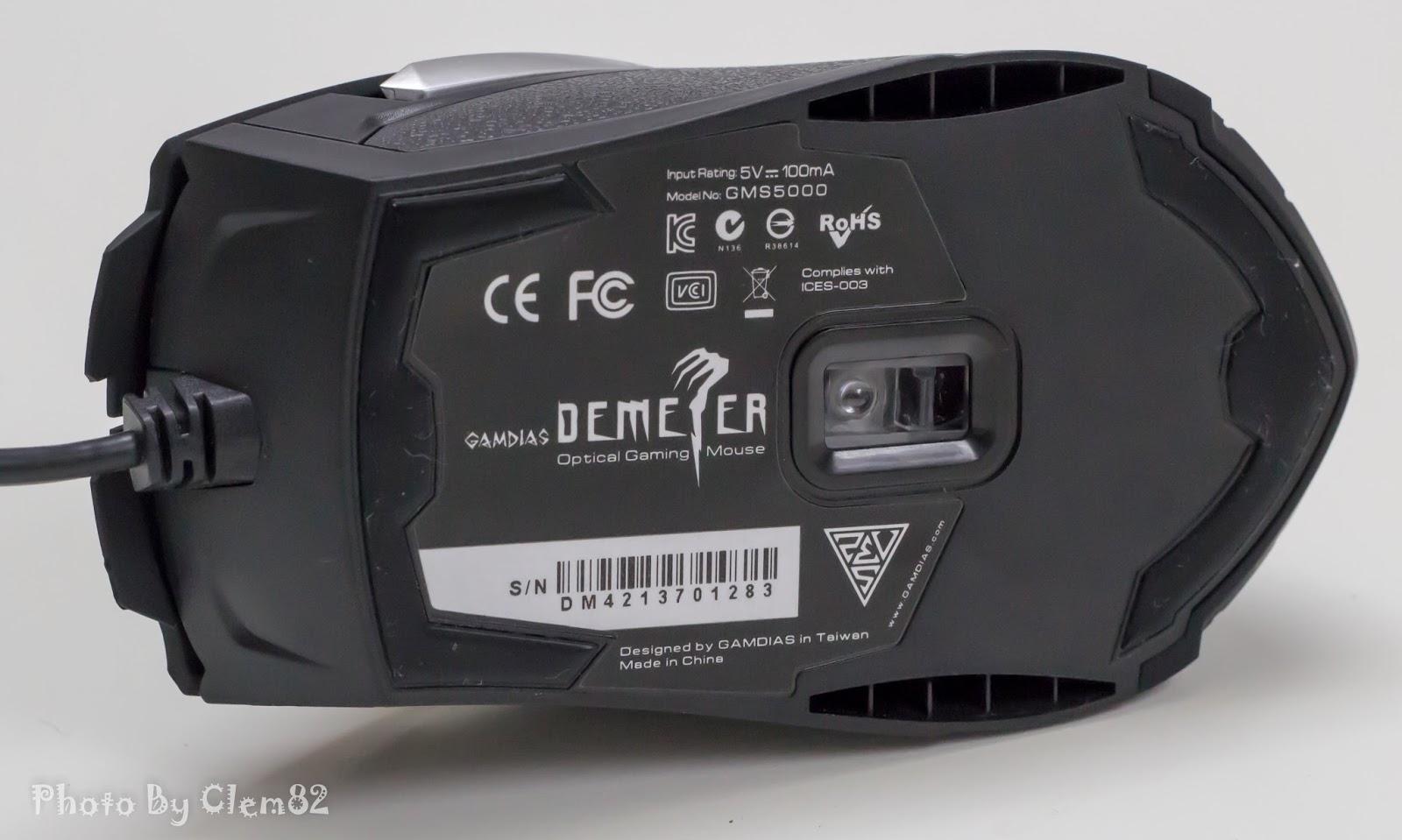 Gamdias Demeter Optical Gaming Mouse 8