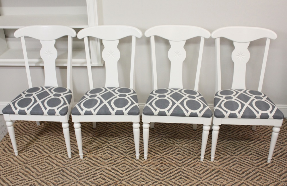 ethan allen dining chairs blue lamb furnishings : 4 Modern Chic Ethan Allen Dining Chairs   SOLD ethan allen dining chairs