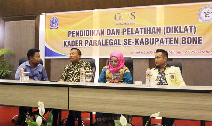 Ratusan Peserta Ikuti Diklat Paralegal Gama Master School di Bone