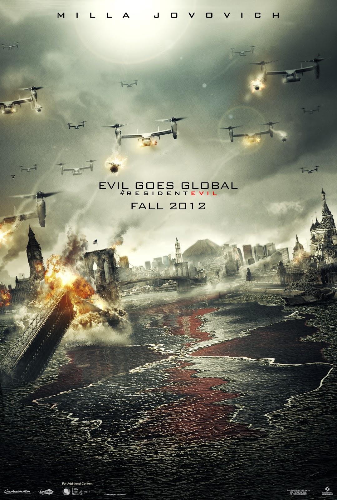 Oh My Blog Movie Resident Evil 5 Retribution