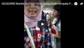 Ela Gadis Cantik Berhijab Pendukung Ahok, Video Wanita Berhijab Pendukung Ahok Menjadi Inspirator Bagi yang Peduli Umat Islam, Non Muslim Pendukung Ahok mengenakan Hijab