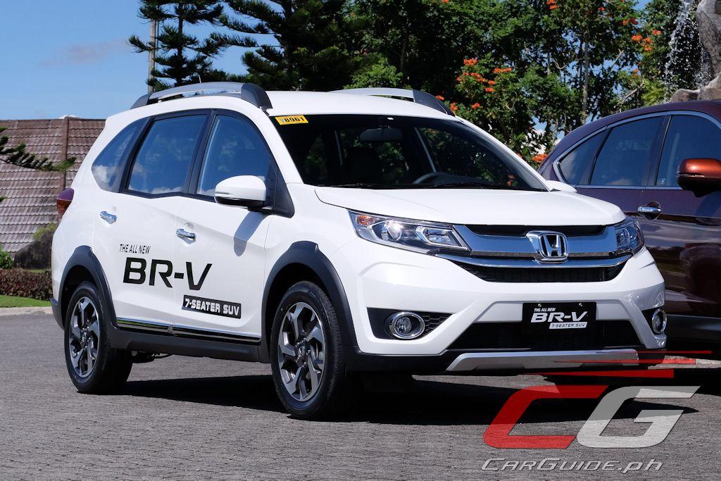 First Drive 2017 Honda Br V 1 5 V Navi Philippine Car News Car