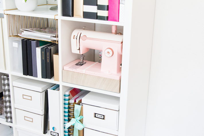 Ways to Keep Your Craft Space Organized by @createoften
