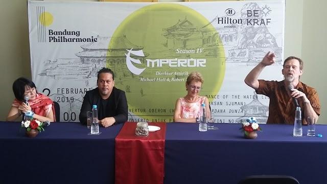 Konser Simfoni Emperor Bandung Philharmonic Hadirkan Pengalaman Agung Emperor Concerto