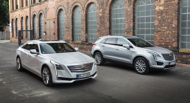 Cadillac Details XT5 and CT6 Models For Europe [135 Pics]