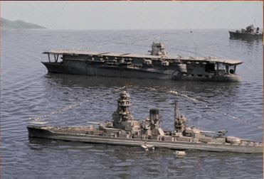 Image result for images of aircraft carrier akagi in movie tora tora tora