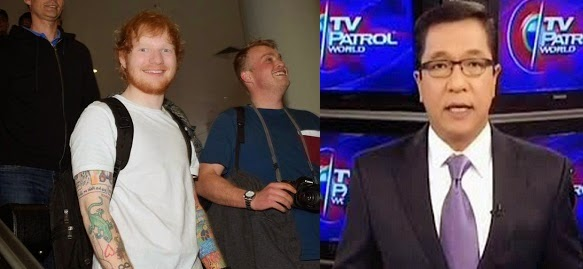 Ed Sheeran vs Ted Failon