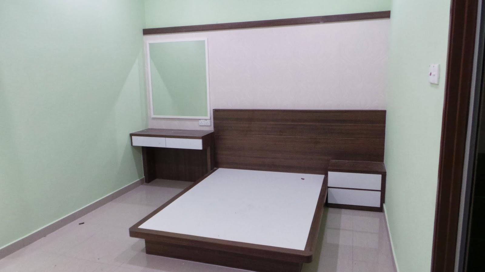Set Bilik Tidur Pasang Siap