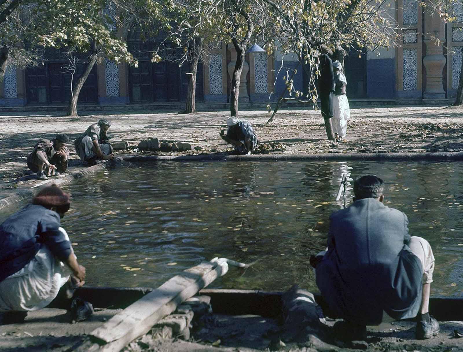 Kabul, Afghanistan, November 1961.