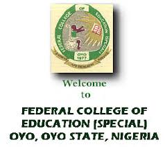 Federal College of Education (Special) Oyo Admission List