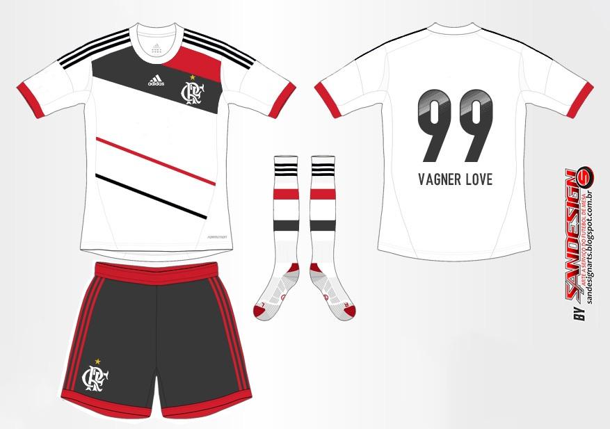 f5118c4fdecd5 Sandescudos - A arte dos Campeões!!!!  Mockup Camisa do Flamengo