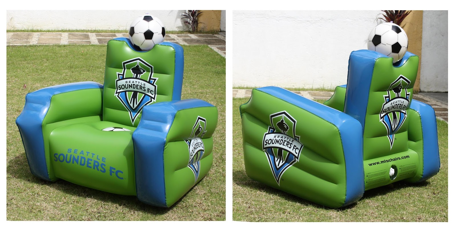 Inflatable Soccer Ball Chair Steel Case Leap Arthur Q Reyes Jr Portfolio Chairs