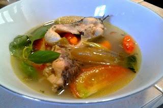 Sup Ikan Nila Khas Cianjur