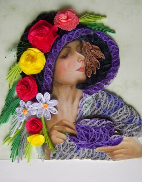 08-Eugenia-Evseeva-Quilling-Paper-&-Photo-Portraits-www-designstack-co