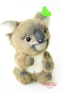 Коала тедди, Koala, Коллекционные мишки тедди, авторские тедди, авторские игрушки, тедди, коллекция мишек тедди,друзья мишек тедди, NatalKa Creaions, artist teddy bears, ooak teddies, collectable teddies, stuffed toys, Künstlerteddys, teddies with charm, Teddybären, Teddy kaufen, teddy bears buy, Summer Lovin` Koala, Влюбленные в лето