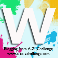 W is for White #AtoZChallenge