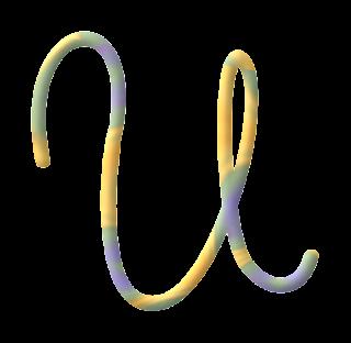 Abecedario de Plastilina en Tonos Pastel. Clay in Pastel Colors Alphabet.