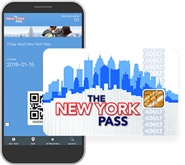 La carte New York Pass pour les attraction à new york