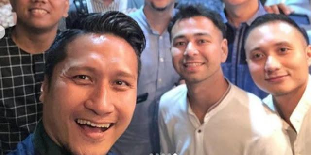 Ikut Pengajian, Arie Untung Ungkap `Ketakutan` Raffi Ahmad