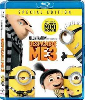 Despicable Me 3 (2017) BRRip 480p 290MB Dual Audio ( Hindi - English ) ESubs MKV