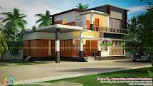 4 Bedroom Modern Home In 1500 Sq-ft - Kerala Design