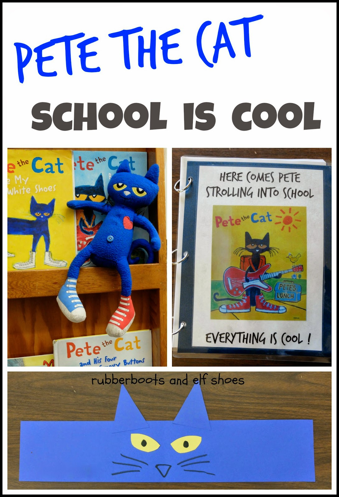 Pete The Cat Headband And Book