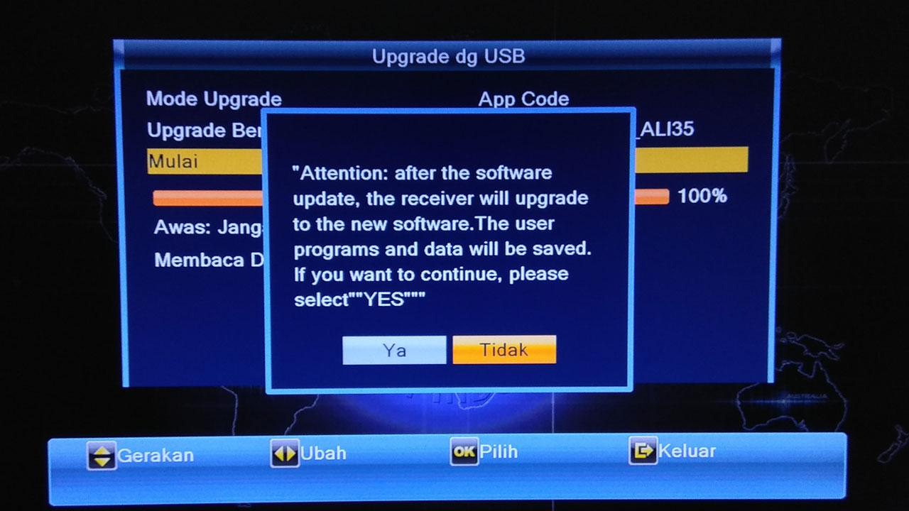 Kelebihan dan Kekurangan Upgrade Firmware Receiver Terbaru