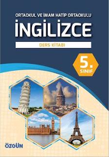 5. Sınıf İngilizce Özgün Yayınları Ders Kitabı Cevapları