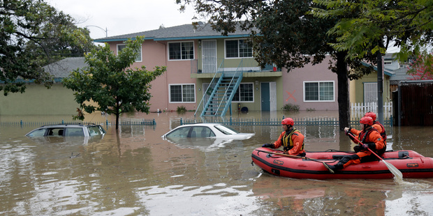 San Jose residents rescued from flood waters