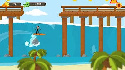 stickman surfer apk